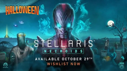 Stellaris: Necroids Species Pack - Release Date Announcement Trailer